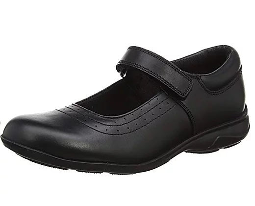 Leather girls school shoes Kate