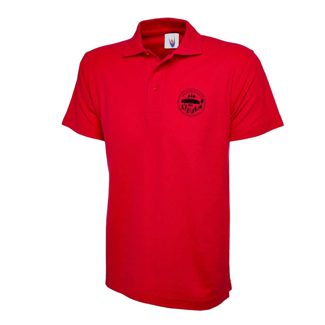 Brook Field Primary School Red Poloshirt