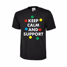 KEEP CALM AND SUPPORT KIDS T-SHIRT