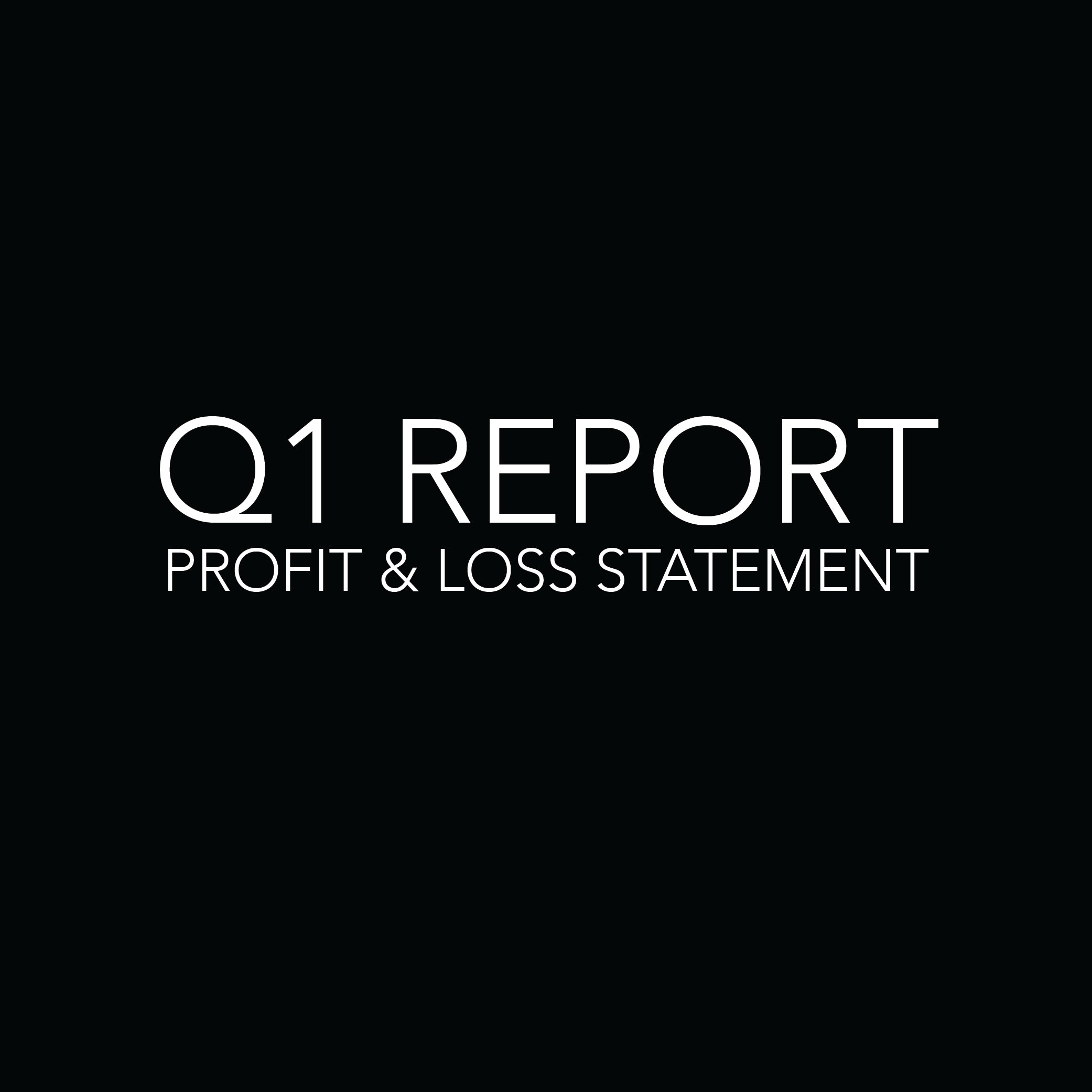 Forward Solutions Inc. Q1 Profit & Loss