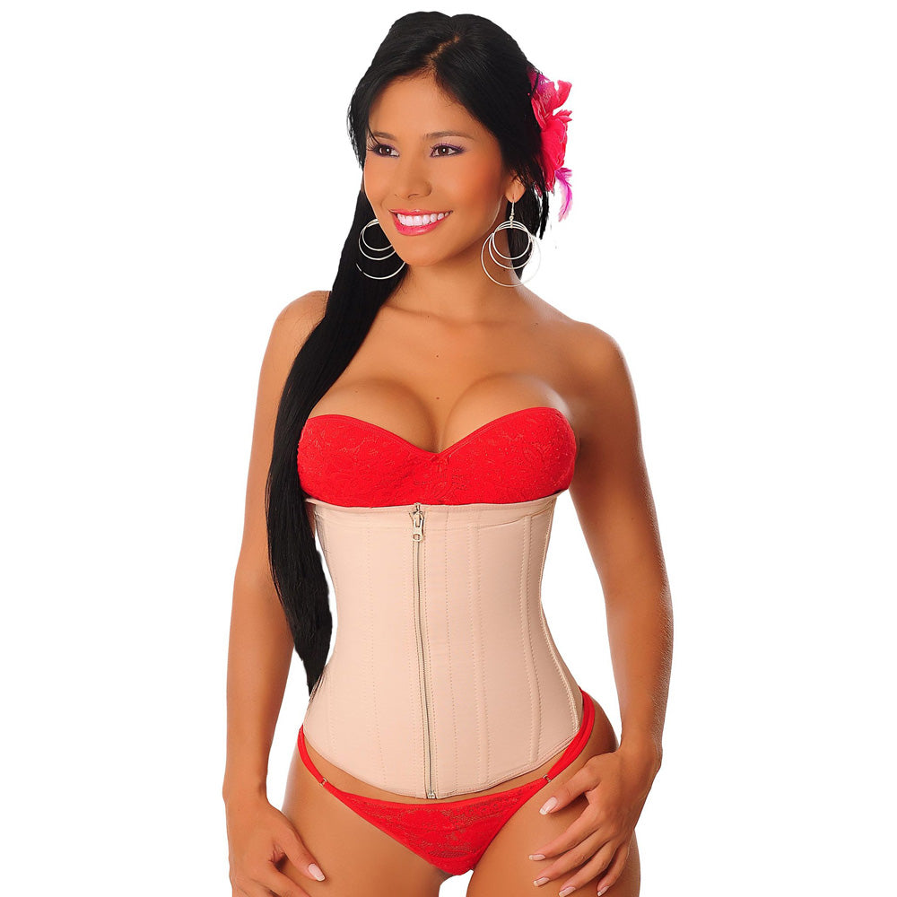 Salome 0315-1 Waist Cincher with Zipper