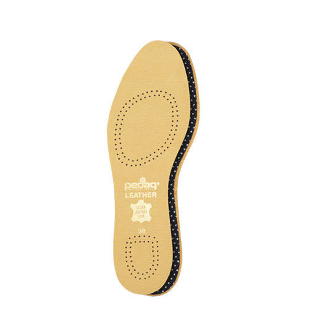 Pedag 110 Flat Leather Full Insole with Effective Active Carbon Filter