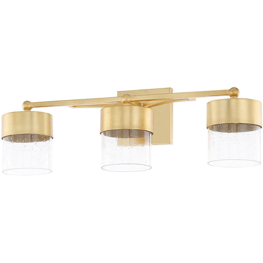 Capital Lighting 119431CG-418-LD Three Light Vanity (Like New)