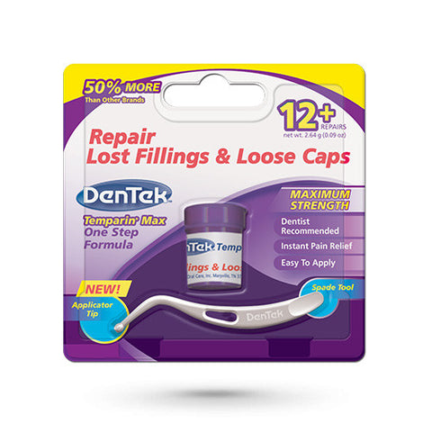 DenTek Temparin Max - Repair Lost Fillings & Loose Caps