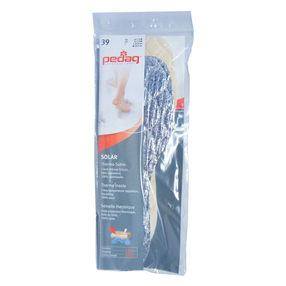 Pedag 145 Solar Insulating Wool Thermo Insoles