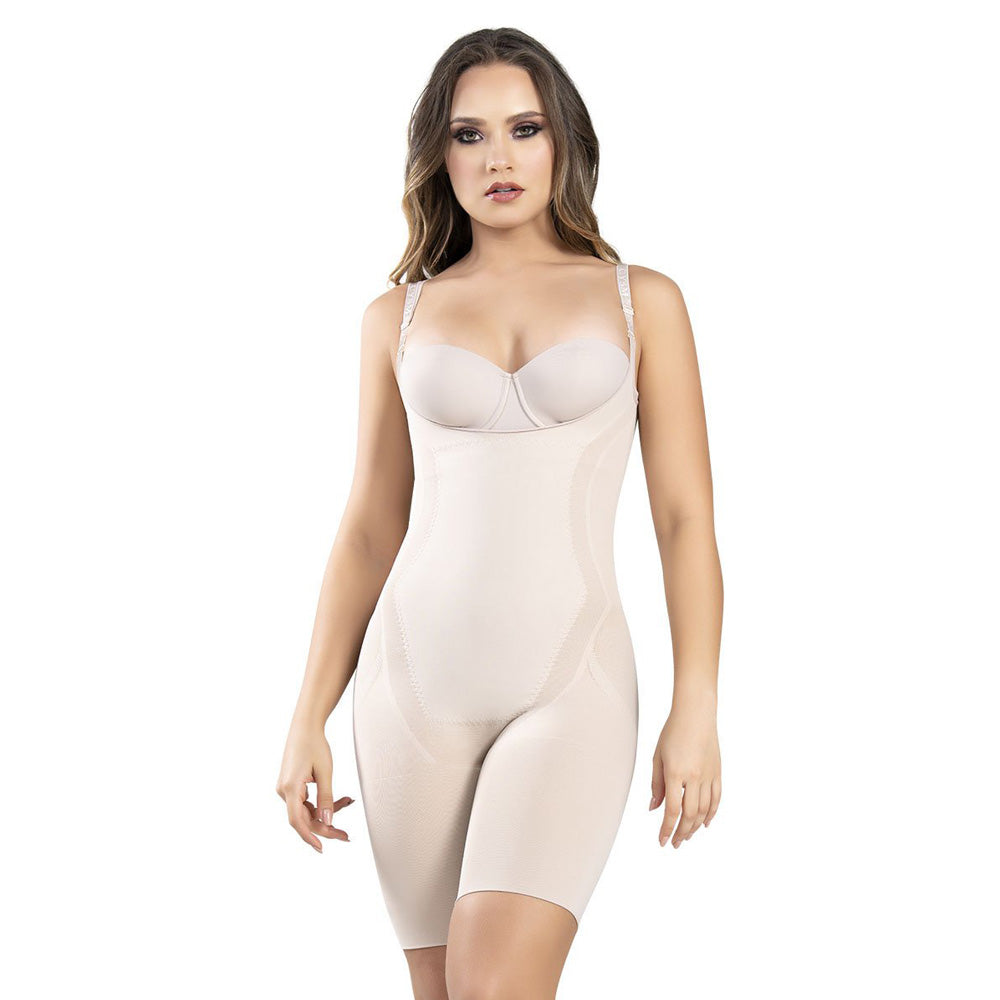 Fajate 1585 Fajas Colombianas Seamless Thermal Weight Loss Hourglass Bodysuit