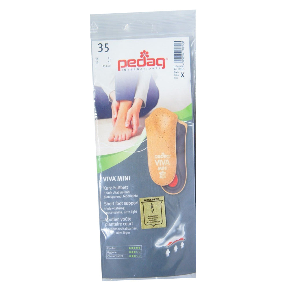Pedag Viva-Mini Orthotic Arch Support Insoles