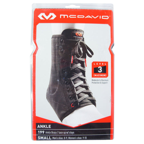 0d04b36949 McDavid 199 Ankle Brace/Lace-Up with Stays, Level 3