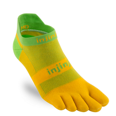 Injinji Run Original Weight No-Show Toe Socks 202110