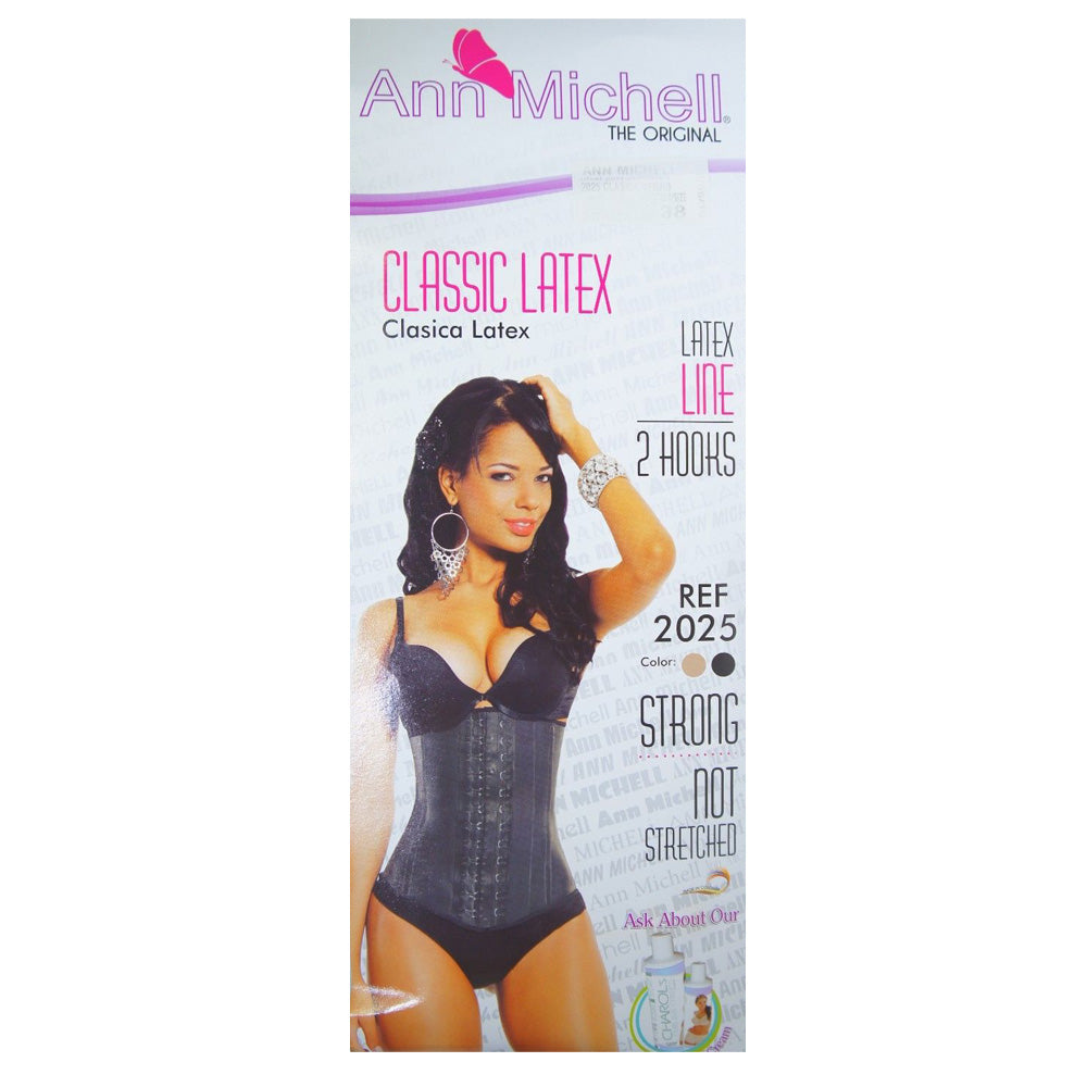 Ann Michell Fajas Colombianas Reductoras Shaper Waist Cincher Trainer Girdle 2 Hooks