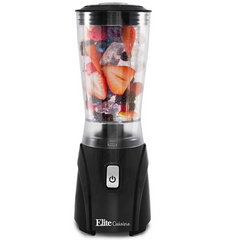 Elite Cuisine EPB-9632 Personal Single Serve Blender, 14 Oz.