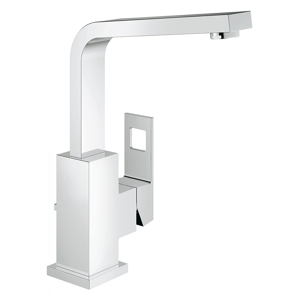 Grohe Eurocube L-Size Single-Handle Single-Hole Bathroom Faucet 1.2 ...