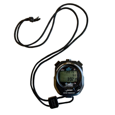 Finis 3X100M Stopwatch, Black