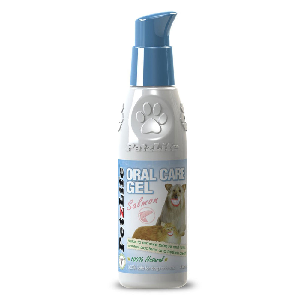 PetzLife Oral Care Spray or Gel for Dogs and Cats, Plaque Remover