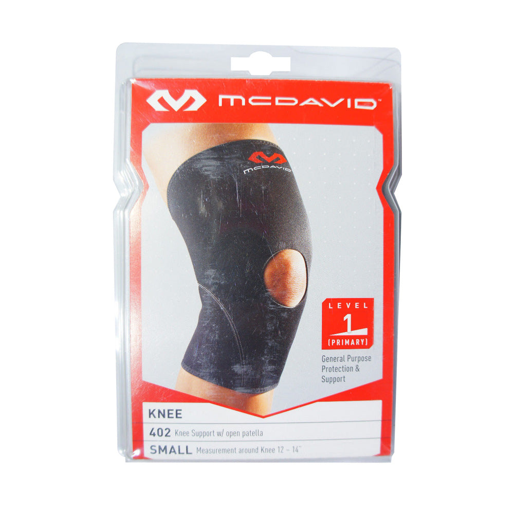McDavid 402 Knee Sleeve with Open Patella, Level 1