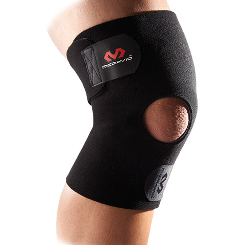 McDavid 409 Knee Wrap/Adjustable with Open Patella, Level 1
