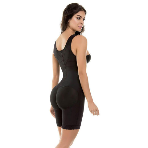 Fajate 455 Fajas Colombianas Boxer Body Shaper Post-Surgery Girdle 3 hooks