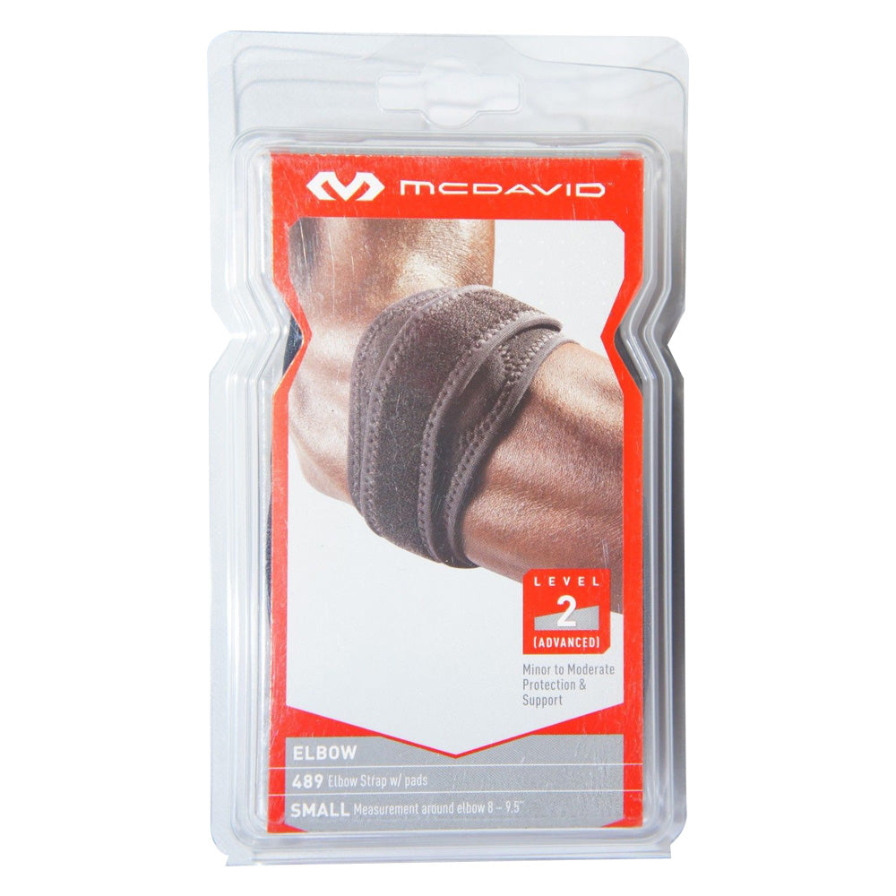 McDavid 489 Elbow Strap with Pads, Level 2