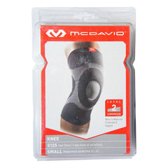 McDavid 5125 Knee Sleeve/4-Way Elastic with Gel Buttress, Level 2