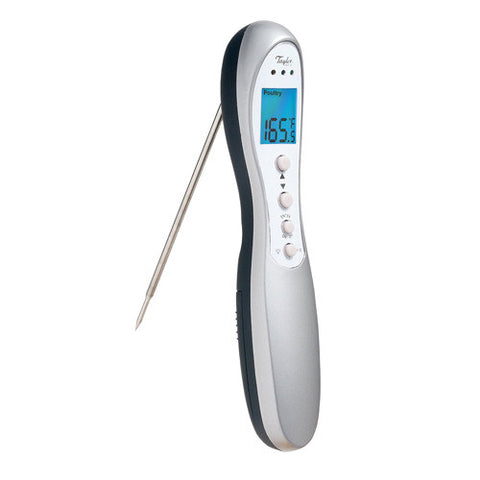 Taylor 518 Connoisseur Digital Folding Probe Cooking Kitchen Thermometer
