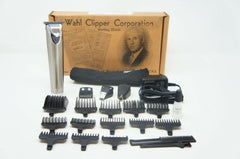 Wahl 9818A Clipper Stainless Steel Lithium Ion Plus Beard Trimmers (Like New) LB-39