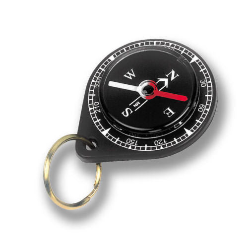 Silva Specialty Compass Companion Camping Survival w/ Keychain 609 Black New