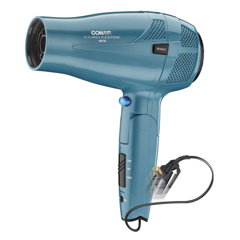 Conair 1875W 289VH W/O BOX Cord Keeper Hair Dryer with Folding Handle