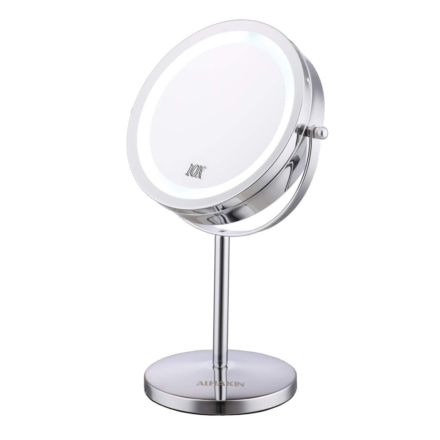 Alhakin Makeup Normal/10X Magnification Table Mirror
