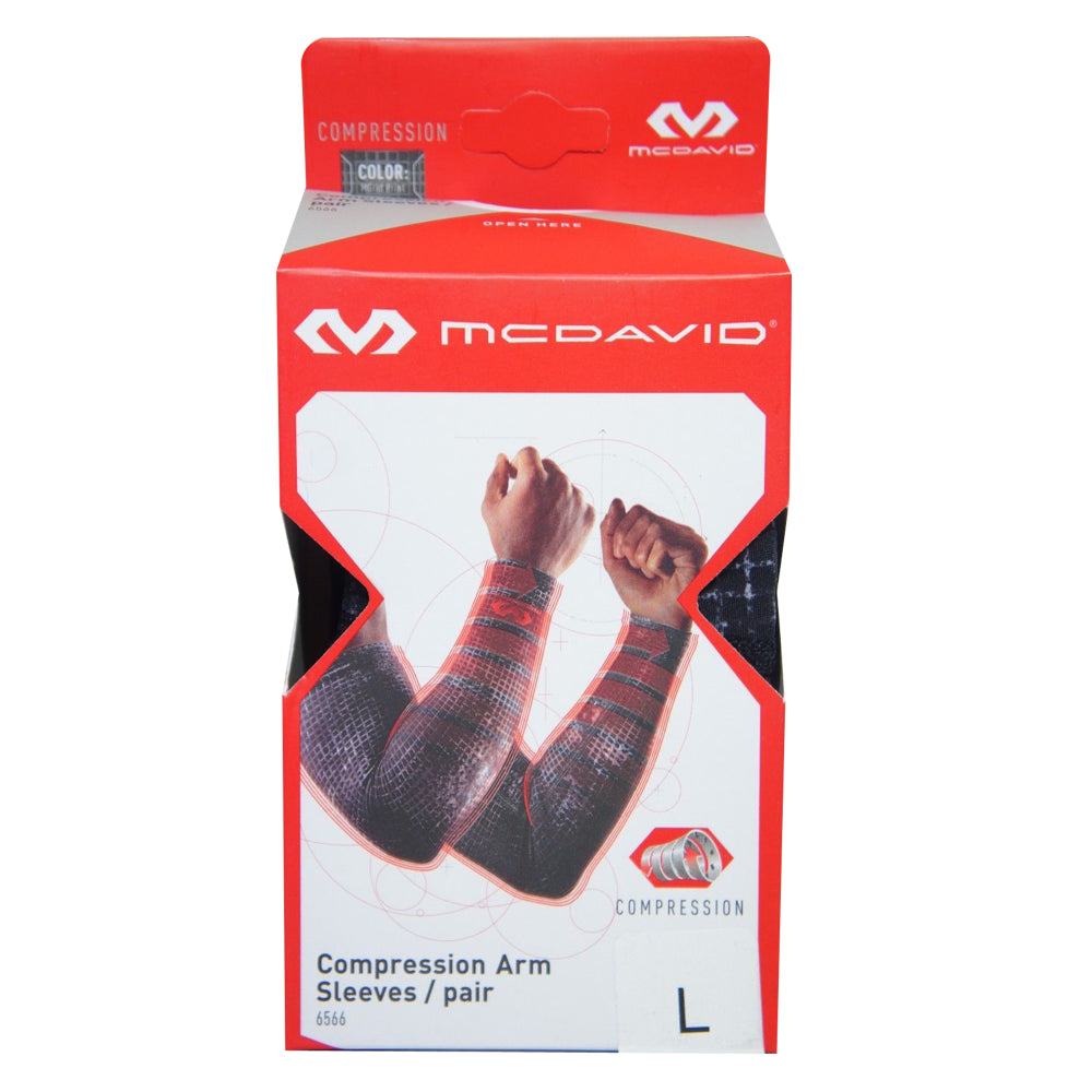 McDavid 656/6566 Compression Arm Sleeve (Pair or Single)