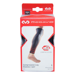 McDavid 6572 Compression Leg Sleeves (Pair)
