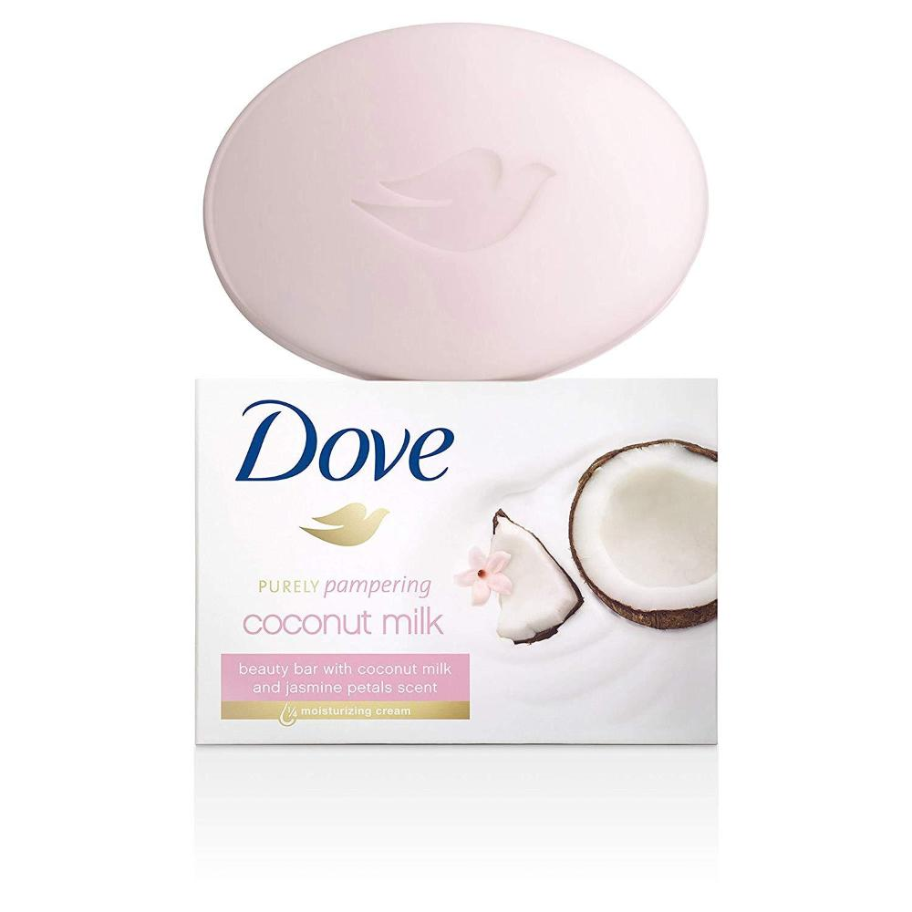 Dove Purely Pampering Coconut Milk Beauty Bar 4 oz. 6 PACK