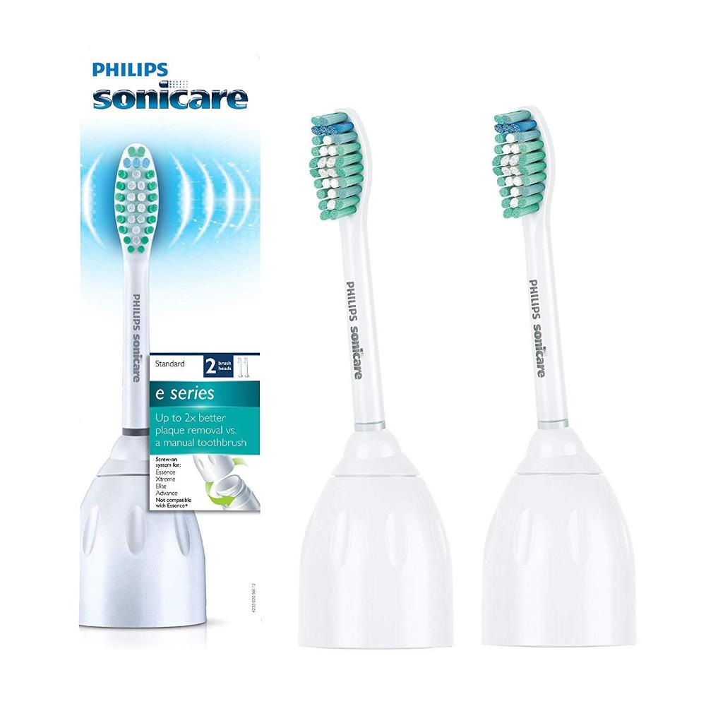 Philips Sonicare HX7022/30 Eseries Replacement Toothbrush 2 Brushes