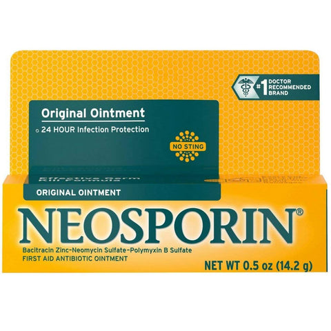 Neosporin Antibiotic Original Ointment 0.50 oz EXP: 1/20 (2 PACK)