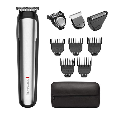 Remington MB4900 Beard Boss Perfecter Stubble and Beard Kit Trimmer 9 PCS