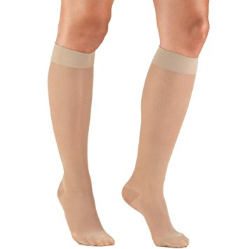 Truform 1773 Lites Knee High 15-20 Mmhg Compression Support Stocking