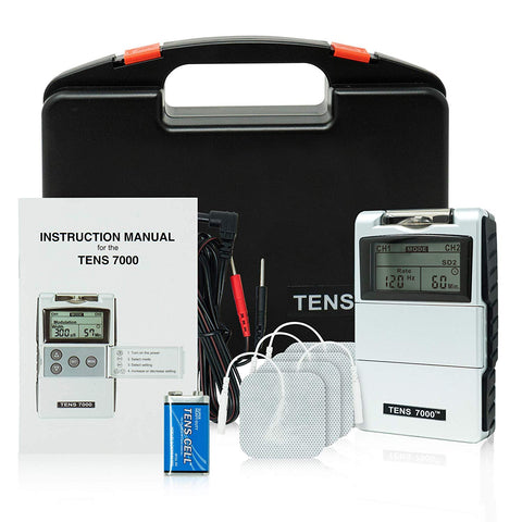 TENS 7000 2nd Edition Digital TENS Unit Muscle Pain Relief W/O ELECTRODES (Like New)