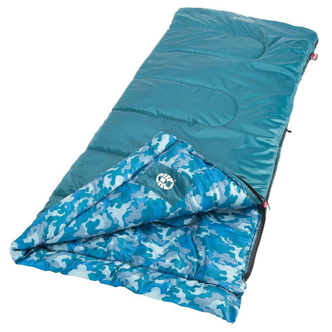 Coleman 2000019647 Plum Fun 45 Youth Sleeping Bag (Like New)