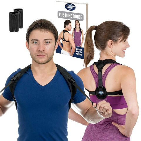 Posture Corrector for Women and Men Best Fully Adjustable Upper Back MEDIUM (Like New)