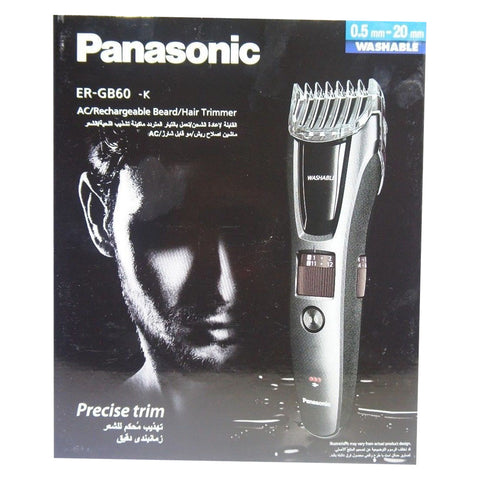 Panasonic ER-GB60-K ERGB60 Precision Beard & Hair Trimmer