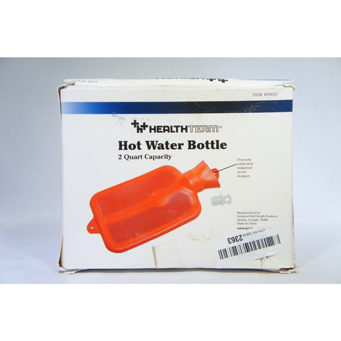 Grafco HT9013 Hot Water Bottle, Individually Boxed 2 quart Capacity