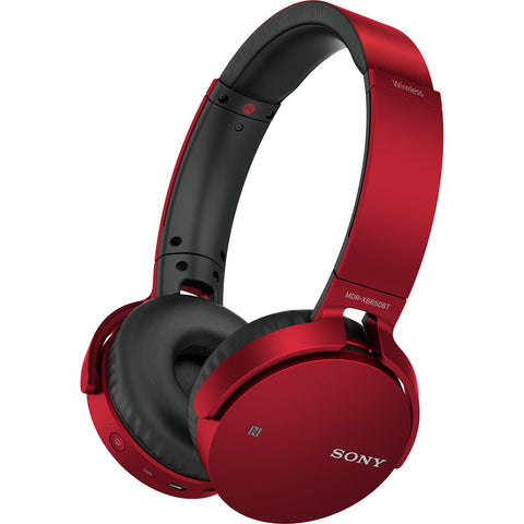 Sony MDRXB650BT/R Extra Bass Bluetooth Headphones RED (Used - Like New)