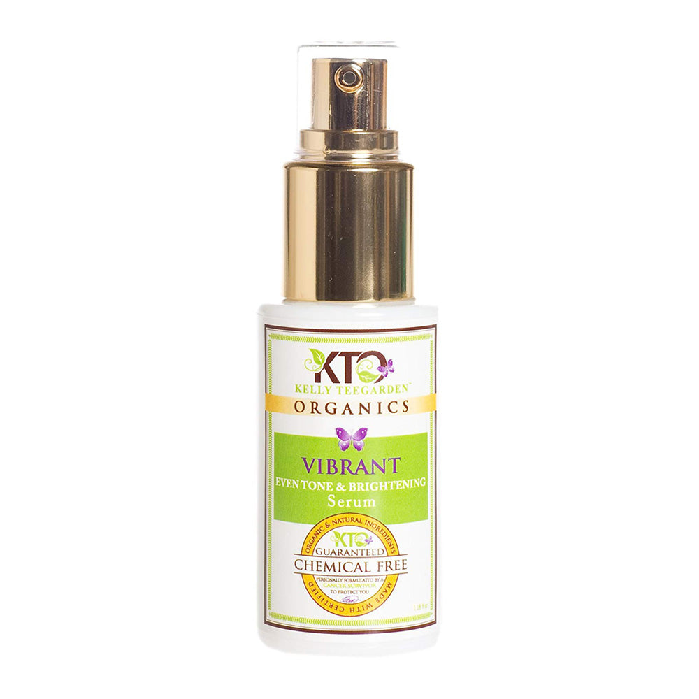 Kelly TeeGarden Vibrant Natural Even Tone, Brightening Serum, 1.18 oz.