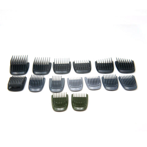 15 GUIDE COMBS for Philips Norelco MG7770/49 Multigroom