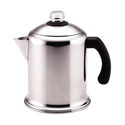 Faberware 8 Cup Percolator Polished stainless steel for beauty and durability (Like New)