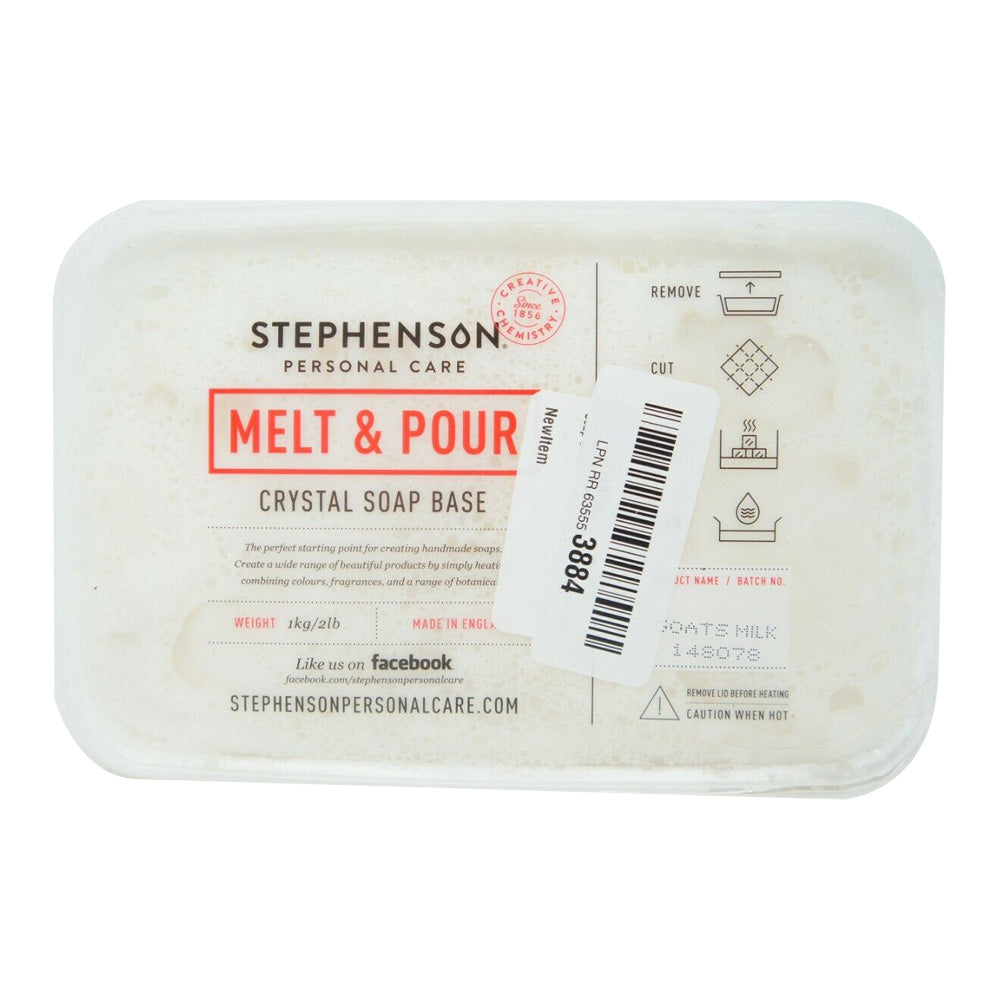 Stephenson 2 LB African Black Melt and Pour Soap Base