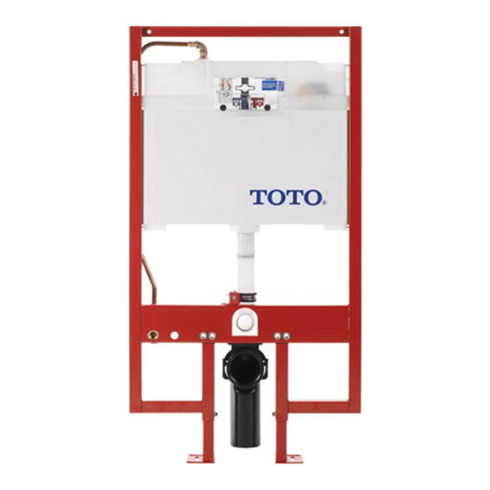 Toto WT151M#01 In-Wall Tank System, 1.6GPF and 0.9-GPF, Cotton (Like New)