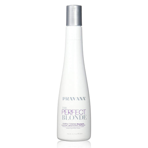 Pravana The Perfect Blonde Purple Toning Shampoo for Unisex, 10.1 oz.