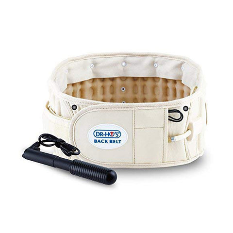 DR-HO'S 2-in-1 Decompression Belt For Lower Back Pain Relief Size B 42-55''