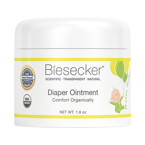 Biesecker Organic Body Care- Hello Baby! Diaper Ointment 1.8 oz.