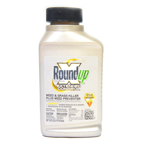Roundup Extended Control Weed And Grass Killer Plus Weed Preventer 16 oz. (Like New)